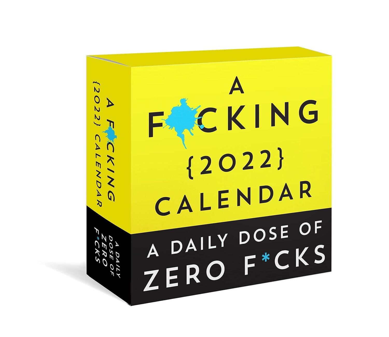Fucking 2022 Boxed Calendar