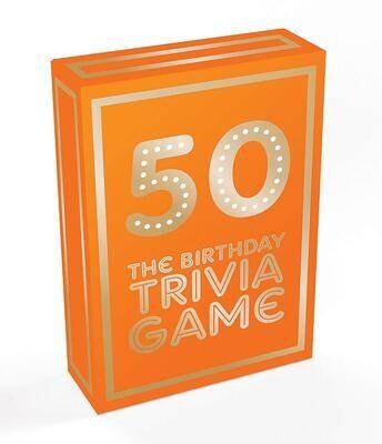 50 The Birthday Trivia Game