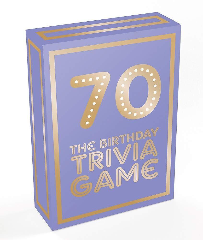 70 The Birthday Trivia Game