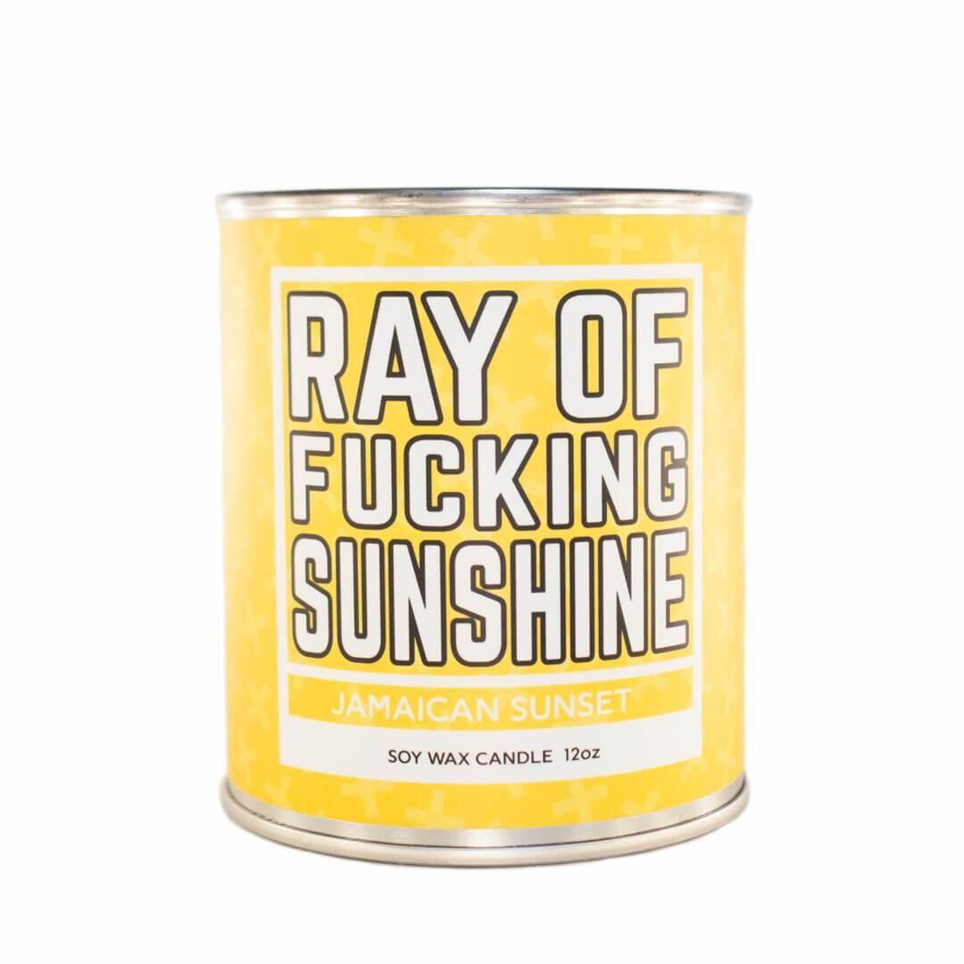 Ray of Fucking Sunshine Candle