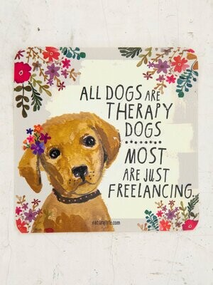 Therapy Dogs Sticker