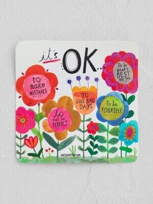 It's Okay Sticker