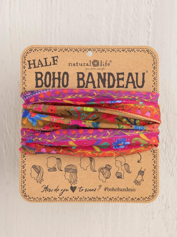 Multi Boarder Half Boho Bandeau