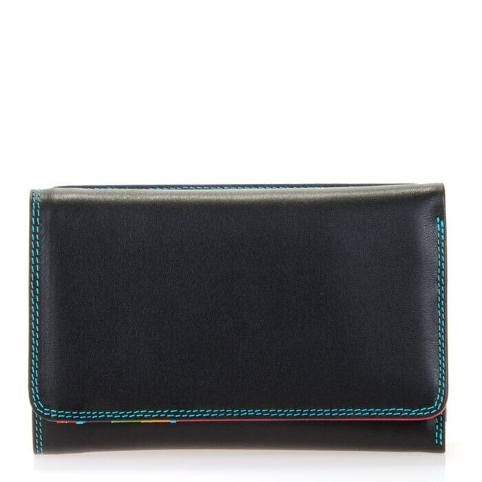 Black/Pace Medium Tri-Fold Wallet