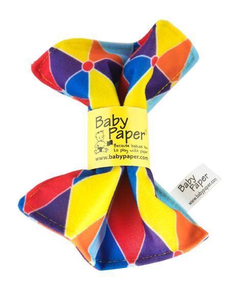 Traingle Baby Paper