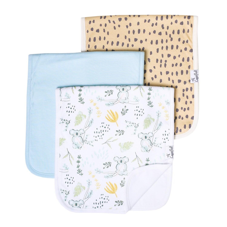 Aussie Burp Cloth Set 3 pack