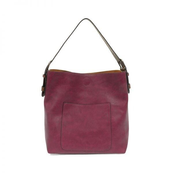 Mulberry Hobo Coffee Handle Silver Buckle Handbag