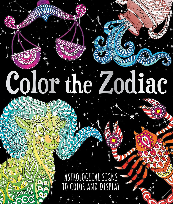 Color The Zodiac Coloring Book