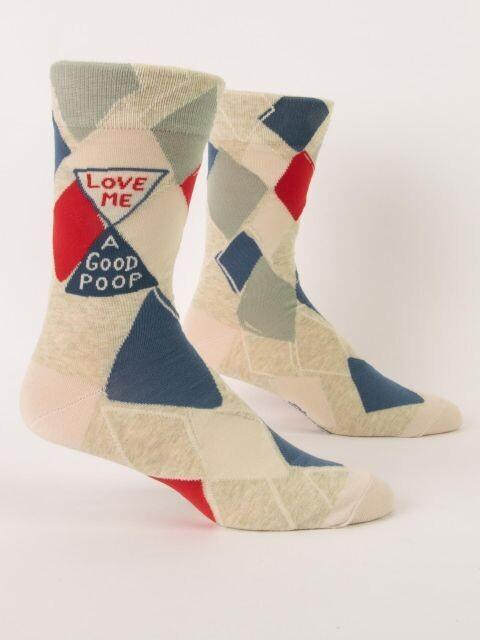 Love Me A Good Poop M - Crew Socks