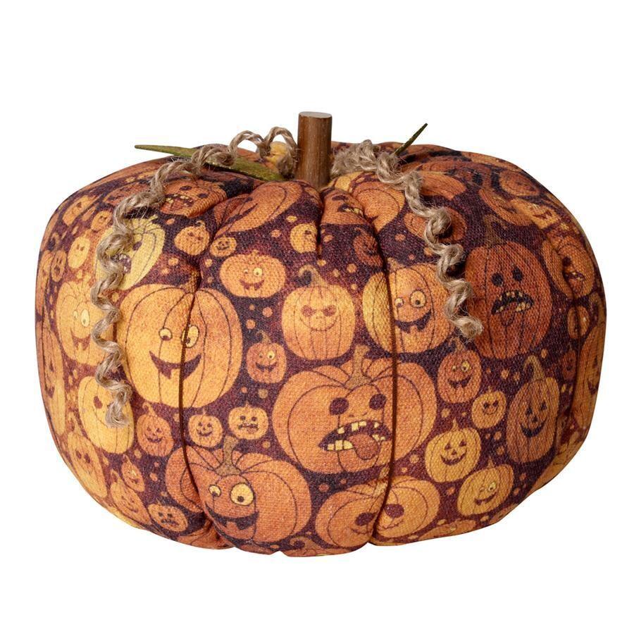 XL Jack O Fabric Pumpkin
