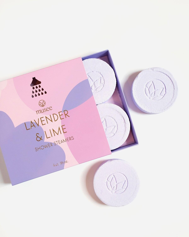 Lavender & Lime Shower Steamers