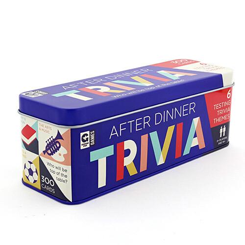 After Dinner Trivia Tin