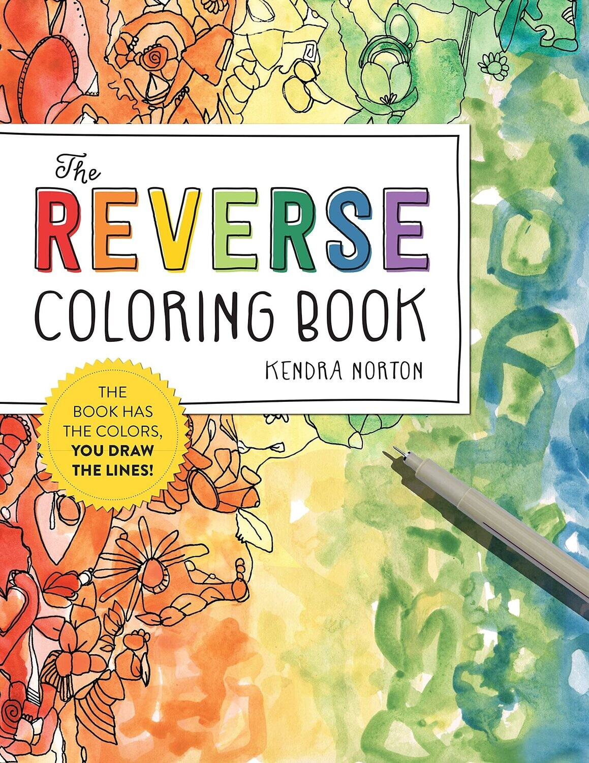 The Reverse Coloring Book