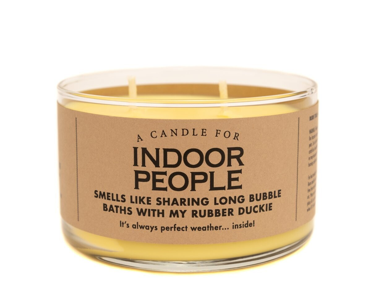Indoor People Candle