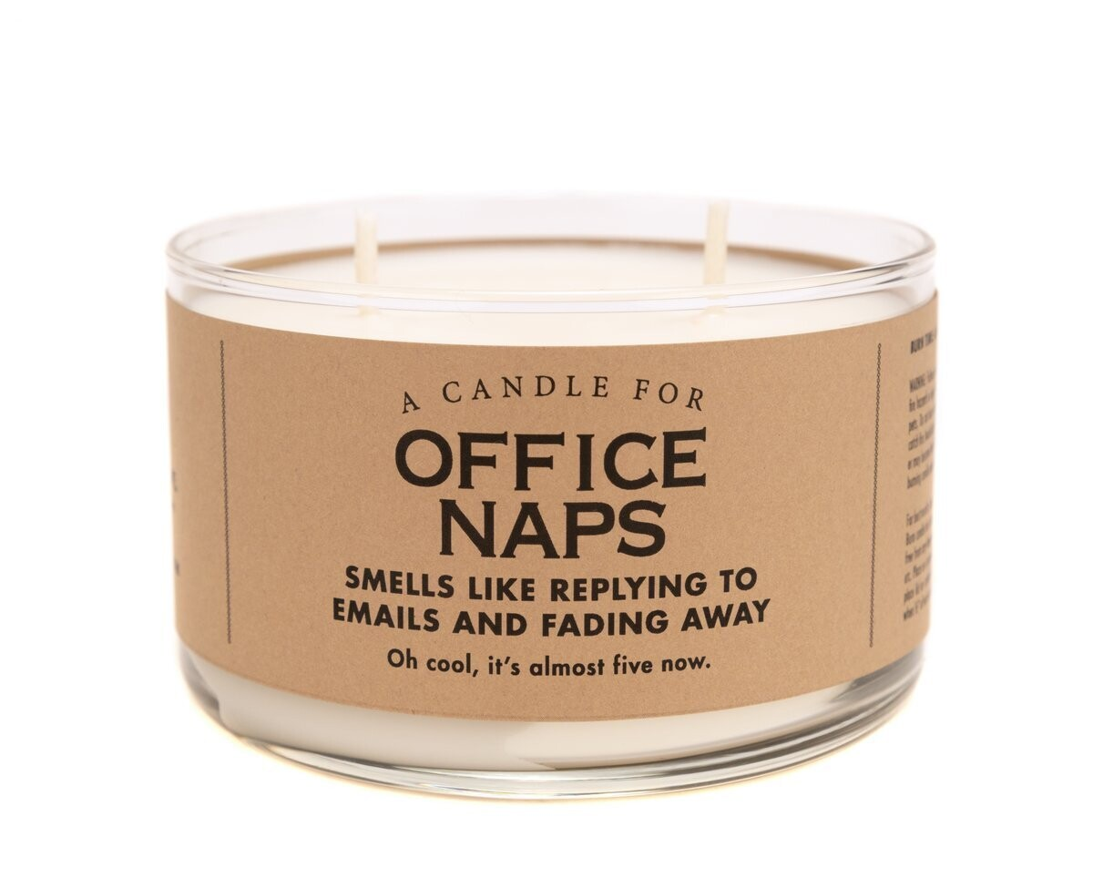 Office Naps Candle