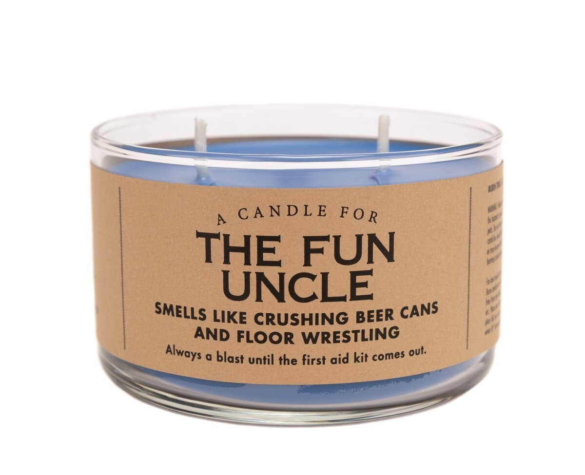 Fun Uncle Candle