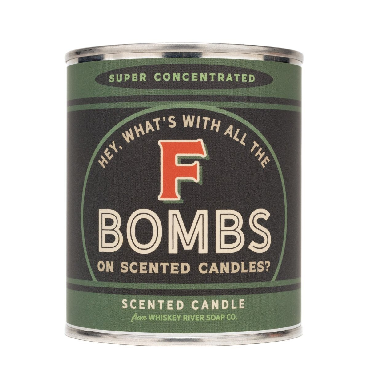 F Bombs - Vintage Paint Can Candle