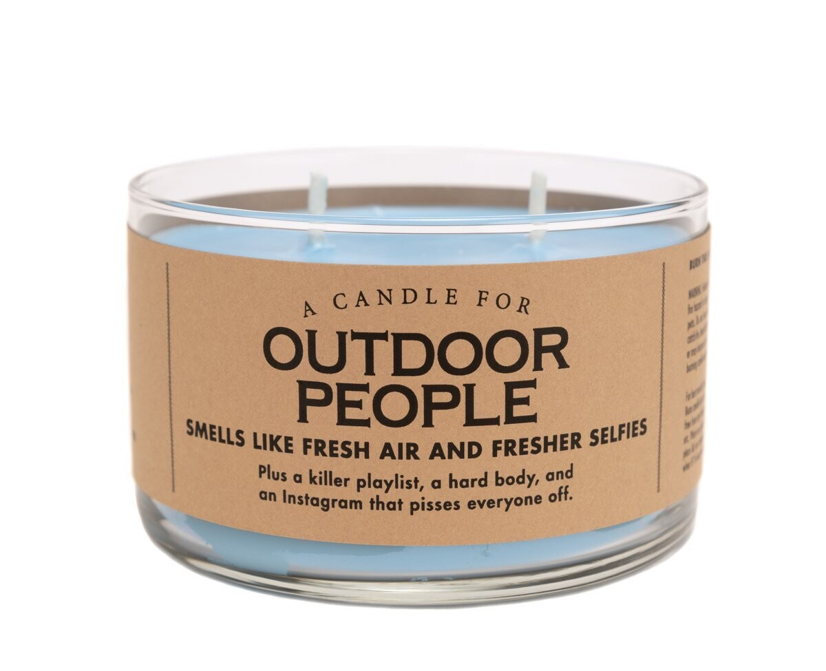 Outdoor People Candle