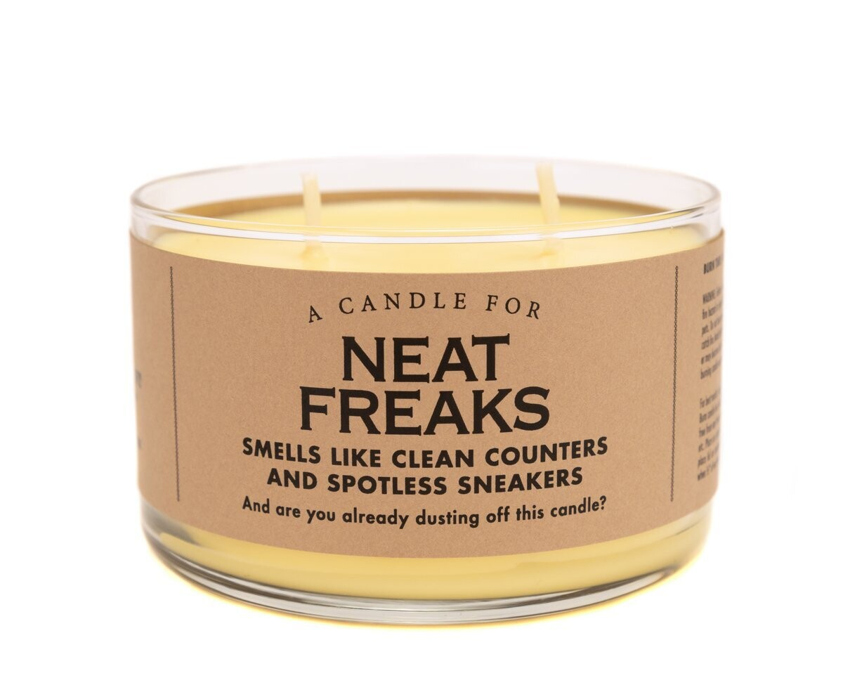 Neat Freaks Candle