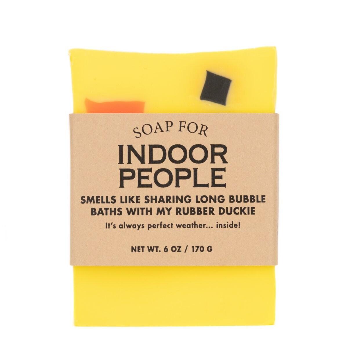 Indoor People Soap