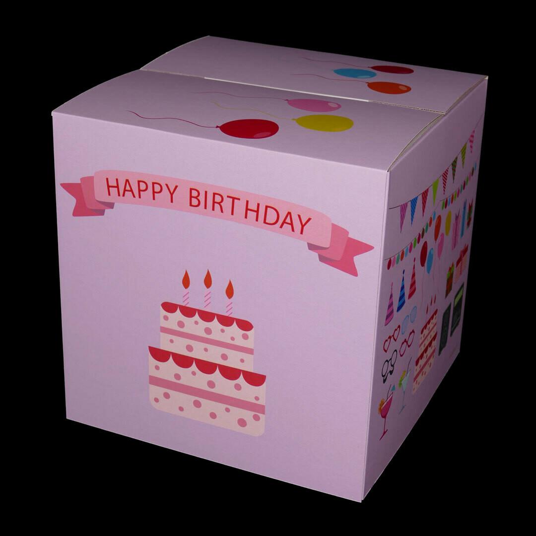 Kinderhocker Happy Birthday