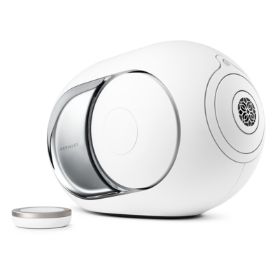 NEW ! Devialet PHANTOM I  103db  CLASSIC 2000W - LIGHT CHROME ( White Matte & Chrome )