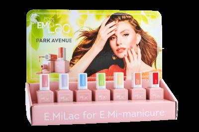 Display E.MiLac Park Avenue 6+1 Set