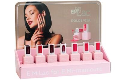 Display Dolce Vita E.MiLac 6+1 Set