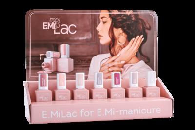 Display E.MiLac Shades of Elegance 6+1 Set