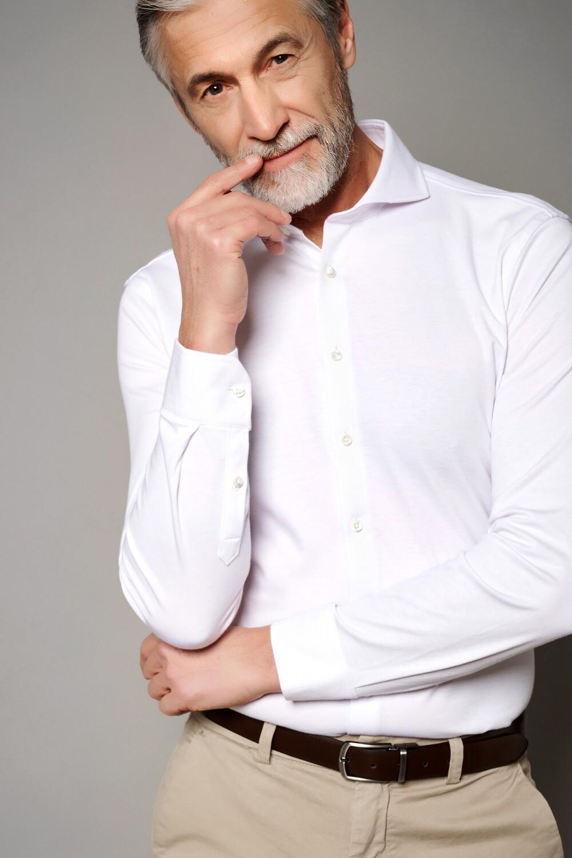 Desoto Luxury Line overhemd wit