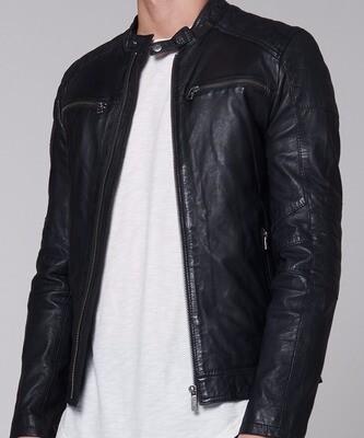 Goosecraft zwarte leren jas