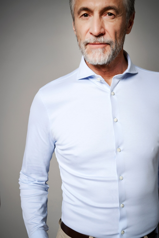 Desoto Luxury Line overhemd lichtblauw