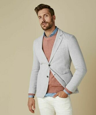 Profuomo grijs knitted colbert