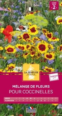 MELANGE DE FLEURS POUR COCCINELLES 3m²
