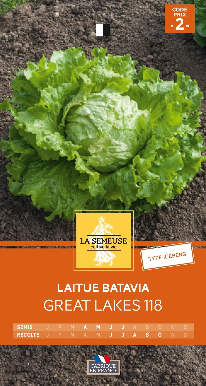 LAITUE BATAVIA ICEBERG GREAT LAKES 118