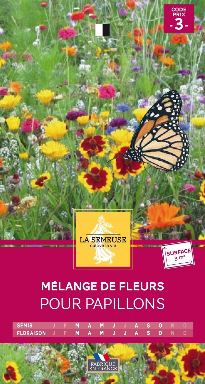 MELANGE DE FLEURS POUR PAPILLONS 3m²