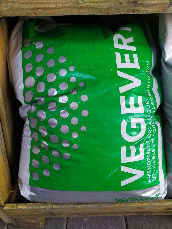 AMENDEMENT ORGANIQUE VEGEVERT, sac de 25kg