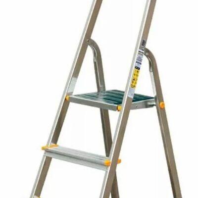 Aluminium Folding  4 Step Ladder Tread Ladders Anti-Slip
