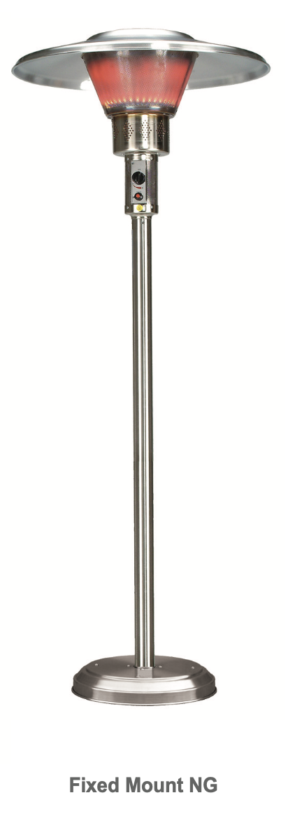 Infrasave's Parasol 4000 Series, Fixed Patio Heater
