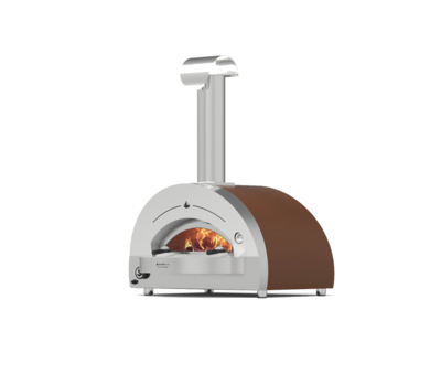 HEARTHSTONE PATIO OVEN: 5.8 WOOD/GAS (NG) - COPPER