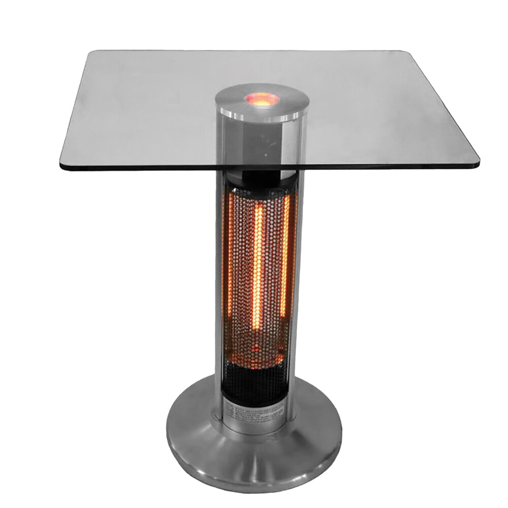 Ener G+ Bistro style table with infrared tower and LED light