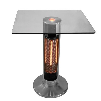 Ener G+ ​Bistro style table with infrared tower and LED light