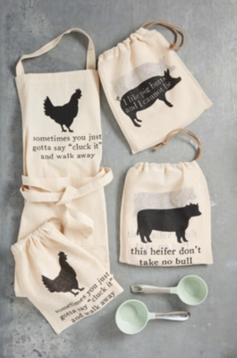 Apron In A Bag by Mud Pie
