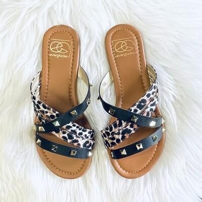 Cassidy Leopard Sandal