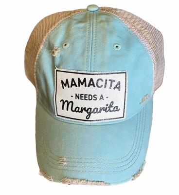 Mamacita Needs A Margarita Truckers Hat
