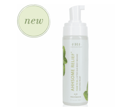 Ahhsome Relief™ Foam-to-Oil After Sun Body Mousse