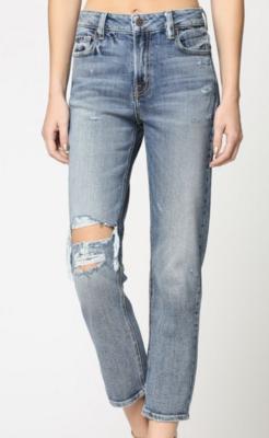 Keiley Super Soft Mom Jeans