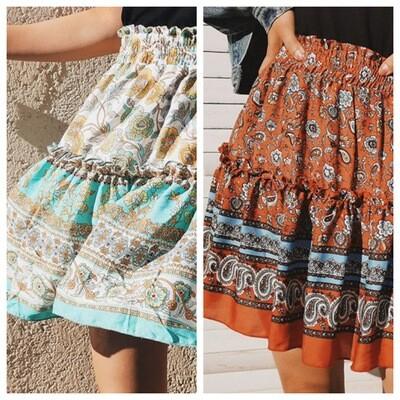 Tracies Boho Skirt