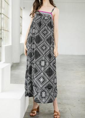 Melissa Bandana Print Midi Dress by THML