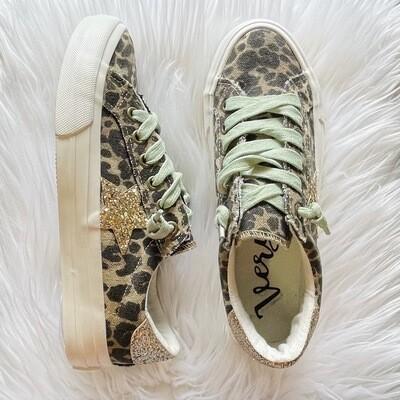 Cosmic Leopard Sneaker